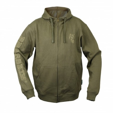 Bearskin Hoody Green Light str. S