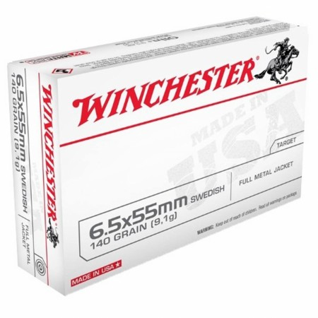 Winchester 6,5x55 140gr FMJ