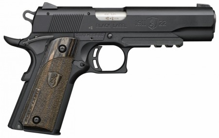 Browning 1911 Black Label w/Rail,22 LR