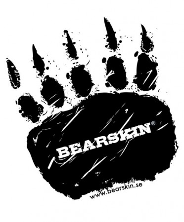 Bearskin Bearfoot Sticker